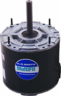 AO Smith 9722 5.0-Inch Frame Diameter 1/8 HP 1075 RPM 208-230-Volt 0.9-Amp Ball Bearing Multi-HP