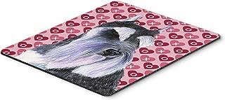 Caroline's Treasures Mouse/Hot Pad/Trivet, Schnauzer Hearts Love & Valentine's Day Portrait (SS4477MP)