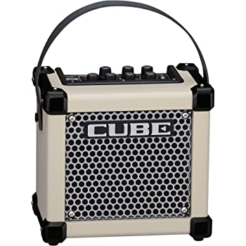 Roland MICRO CUBE GX Portable 3-Watt Guitar Amplifier, White