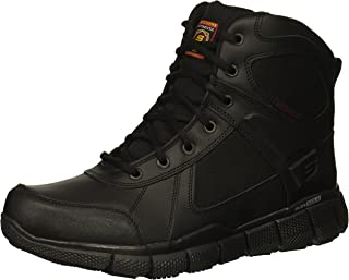 best sneakers 38f7e f6cde Skechers Men s Telfin-Sawaga Military and Tactical Boot Black Leather 8 ...