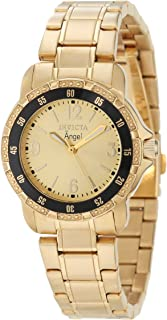 Women's 0550 Angel Collection 18k Gold-Plated Stainless Steel Watch