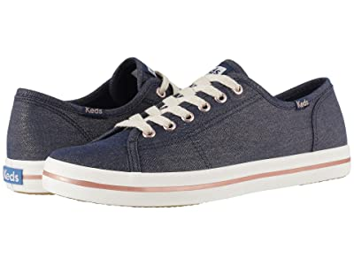 Keds Kickstart Lurex Denim (Navy Lurex Denim) Women