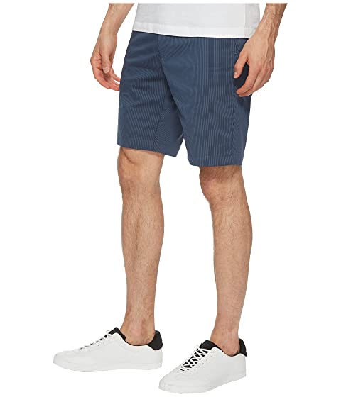 Shorts Twill Calvin Front Klein Flat Striped qHPPfw