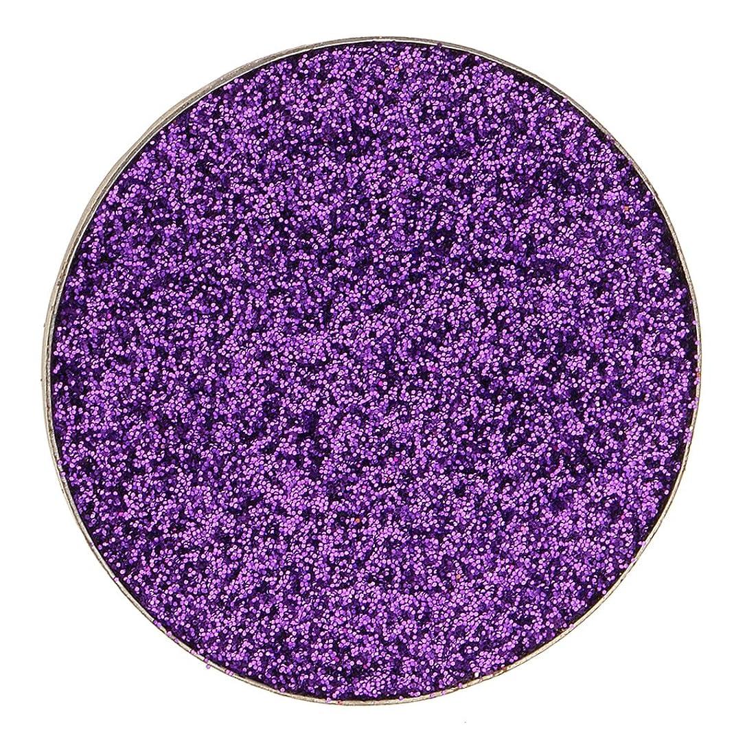 可塑性あえぎ頭痛Kesoto ダイヤモンド キラキラ シマー メイクアップ アイシャドウ 顔料 長持ち 滑らか 全5色 - 紫