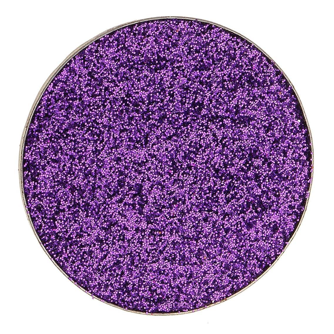 補助金直立殺人Kesoto ダイヤモンド キラキラ シマー メイクアップ アイシャドウ 顔料 長持ち 滑らか 全5色 - 紫