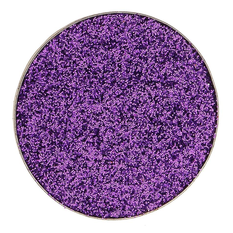 満足できる補助優れましたKesoto ダイヤモンド キラキラ シマー メイクアップ アイシャドウ 顔料 長持ち 滑らか 全5色 - 紫