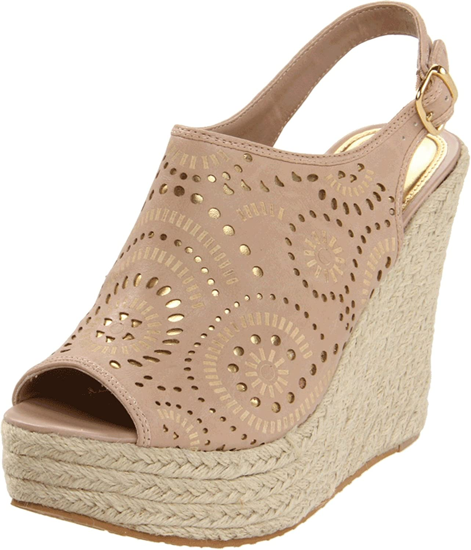 Yellow Box Women's Saturday Wedge Sandal