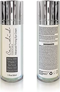 Eye Cream – 1oz - Intense Firming Cream Anti Aging – Organic & Natural - Reduces Fine Lines & Wrinkles with Matrixyl 3000,...