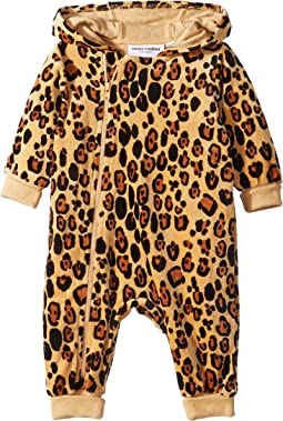 Leopard Velour One-Piece (Infant)