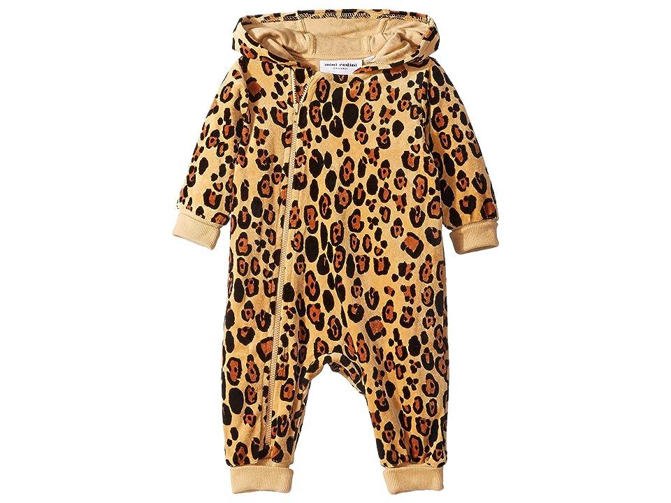 mini rodini - mini rodini Leopard Velour One-Piece