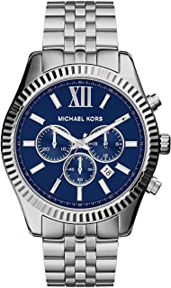 Michael Kors Men's Quartz Watch, Analog Display and Stainless Steel Strap MK8280