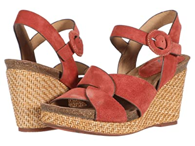 Sofft Casidy (Coral Cow Suede) Women