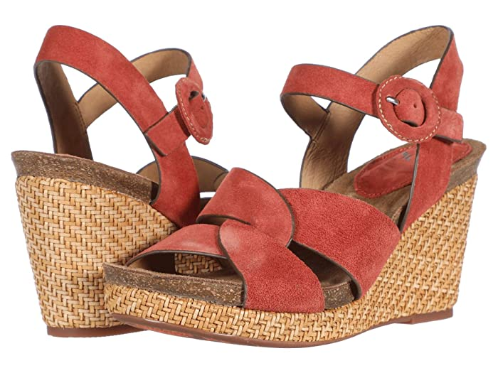 Sofft  Casidy (Coral Cow Suede) Womens Shoes