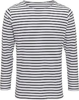 Asquith & Fox Mens Mariniere Coastal Long Sleeve T-Shirt