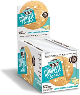 Lenny & Larry's The Complete Cookie, White Chocolate Macadamia, 4 Ounce (Pack of 12)