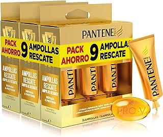 Pantene Repara y Protege Mascarilla Hidratante Cabello Ampolla Rescate Tratamiento Intensivo Pelo Seco y Dañado Repara...