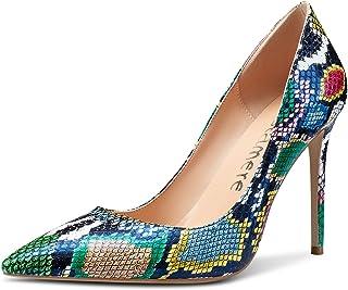 Castamere Scarpe col Tacco Donna Moda High Heels Pumps Tacco a Spillo 10CM