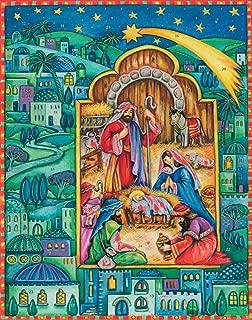 Vermont Christmas Company Born in Bethlehem Advent Calendar w Nativity Story