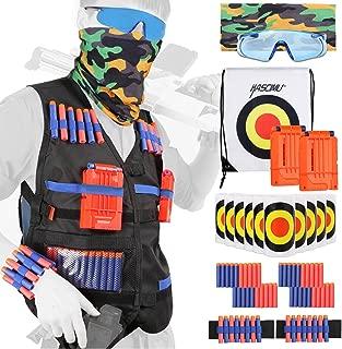 KASCIMU Tactical Vest Kit for Nerf Guns N-Strike Elite Series - Best Nerf Gun Accessories