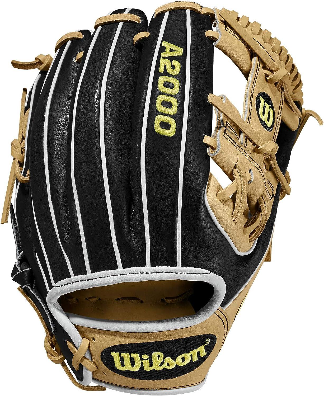 Wilson A2000 11.5-Inch SuperSkin Baseball Ta Black Blonde 激安 激安特価 送料無料 Glove ●スーパーSALE● セール期間限定