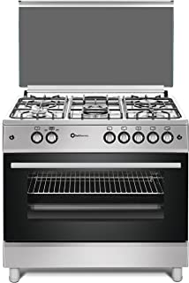 Cocina SolThermic F9L50G2-I PANORÁMICA de color Color INOX