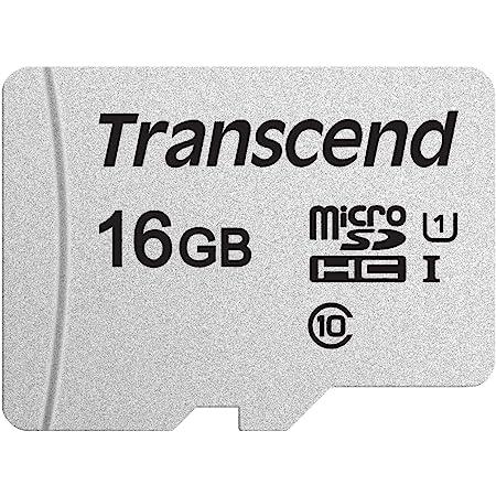 Transcend マイクロSDカード 16GB UHS-I Class10 Nintendo Switch/3DS 動作確認済 TS16GUSD300S-AE【Amazon.co.jp限定】