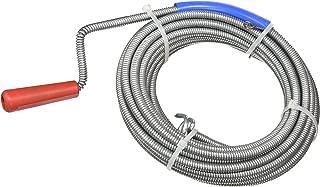 desatascador tuberias,Li-Ion Eje Flexible de 7 m 18V 2000mAh Ginour Desatascador de Desag/ües Espiral de Limpieza de Tuber/ías para Di/ámetros de 19-50 mm con LED Velocidades Variables