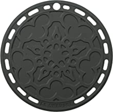 """Le Creuset Silicone French Trivet, 8"""", Oyster"""