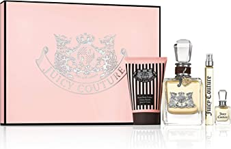 Juicy Couture 4 Piece Fragrance Gift Set, Perfume for Women
