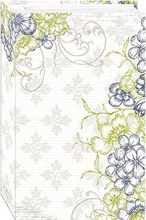 3-Ring Photo Album 504 Pockets Hold 4x6 Photos, Cobalt Breeze Design