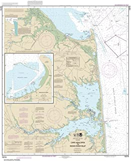 Paradise Cay Publications NOAA Chart 12216: Cape Henlopen to Indian River Inlet; Breakwater Harbor, 37.7 X 30.9, TRADITIONAL PAPER