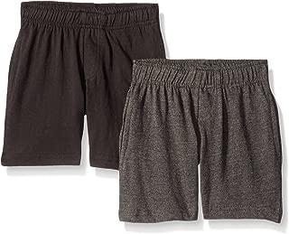 Boys' 2 Piece Pack Cotton Jersey Shorts