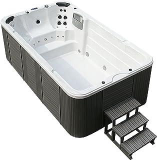 Jacuzzi-piscina de exterior, 400x 230cm, para 8personas