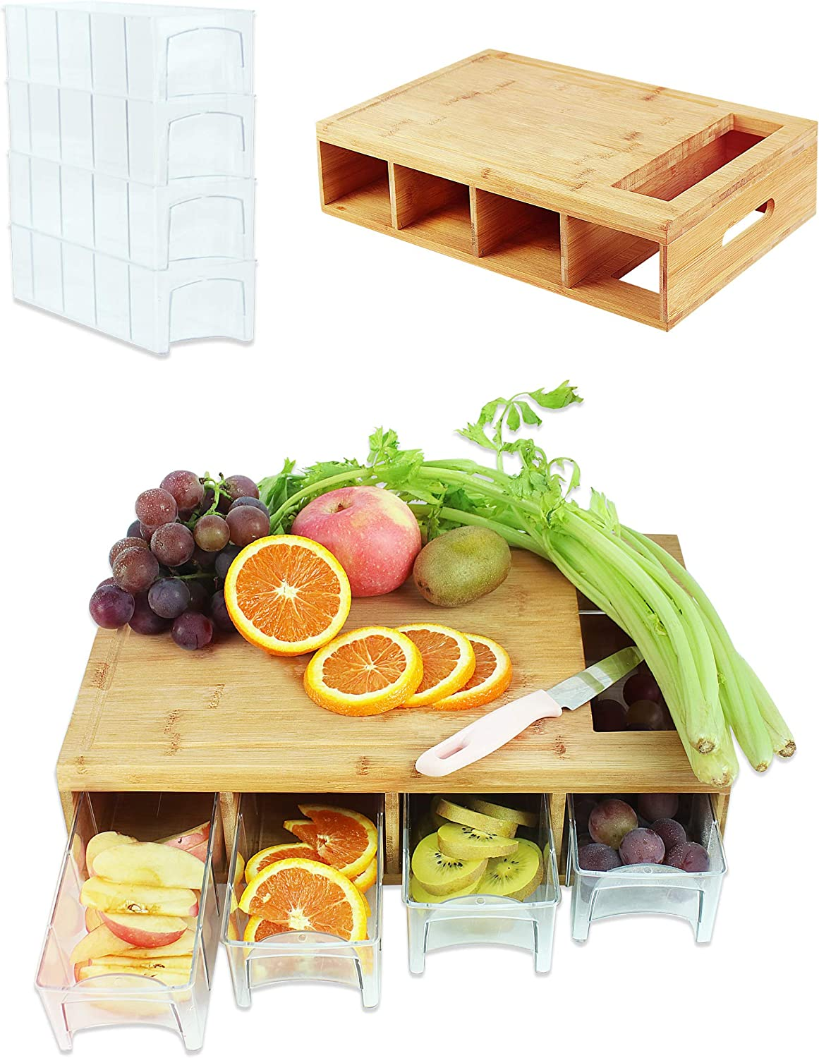 Bamboo Memphis Mall Cutting Board With Ranking TOP2 Trays Wood Contai Chopping with
