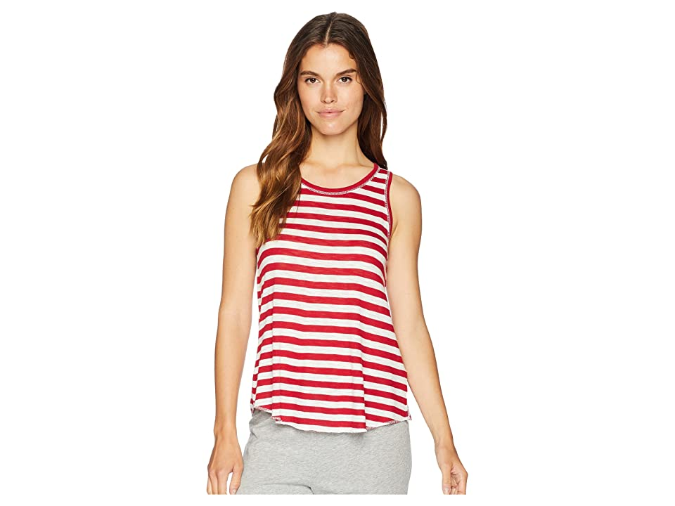 P.J. Salvage 76 Vibes Tank (Red) Women