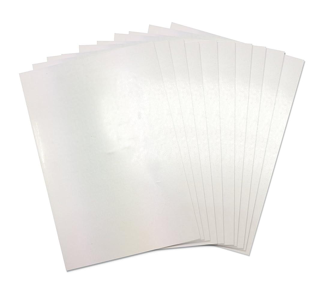Sizzix Shrink Plastic 10PK (A4 Sheets) Craft Supplies, 20.999999999999996 x 7.3 x 1 cm, Die Cut