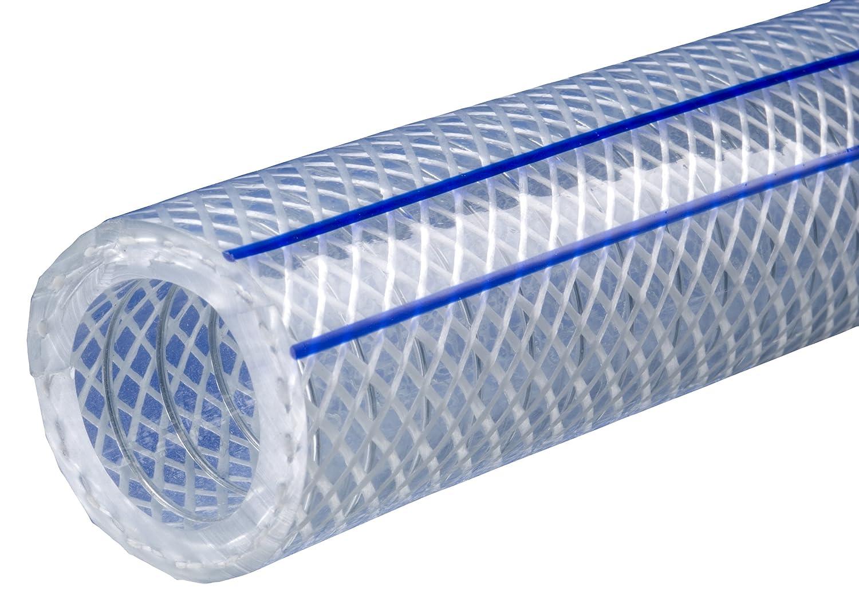 """Kuriyama - K7300-16X25 Kuri Tec K7300 Series Heavy Wall Wire-Yarn Reinforced Vacuum/ Pressure Hose, 225 psi, 25' Length x 1"""" ID, Clear: Industrial Hoses: Industrial & Scientific"""