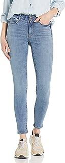 Goodthreads Amazon Brand Women's Mid-Rise Skinny Jeans, Storm Blue Wash 28 Short