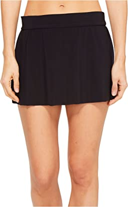 Solid Jersey Tennis Skirt Swim Bottom