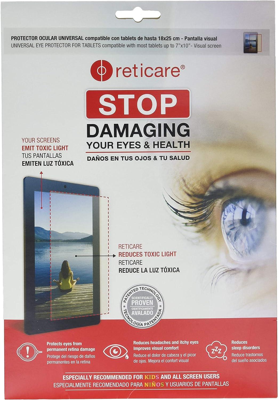 Reticare 352T-3500-B - Protector de ojos para tablets de 18 x 25 cm, intensive