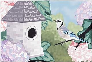 "Liora Manne ILU34329826 Illusions Blue Jay Indoor Outdoor Washable Area Rug, 2'5"" x 4'1"""