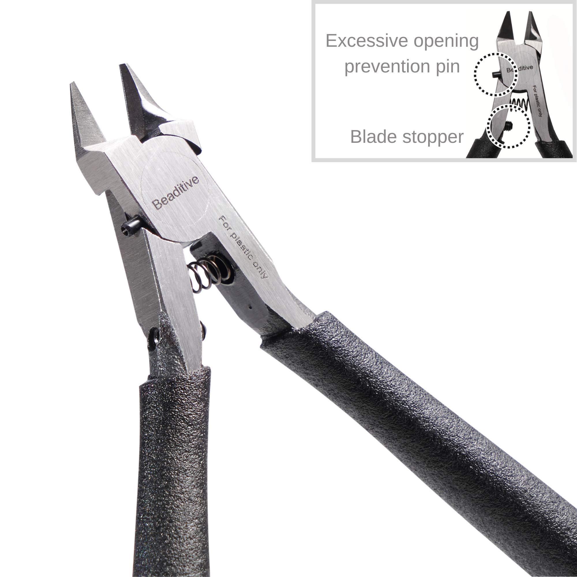 Beaditive Single Blade Nipper, Plastic Sprue Cutter