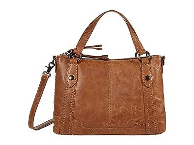 Frye Melissa Medium Crossbody (Beige) Handbags
