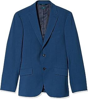 Men's Slim Fit Washable Solid Suit Jacket