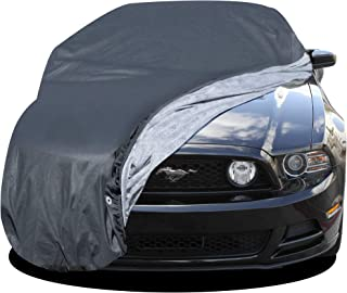 Custom Fit Car Cover for Select Ford Mustang - Basic Out-Door 4 Layers - Tough Stuff