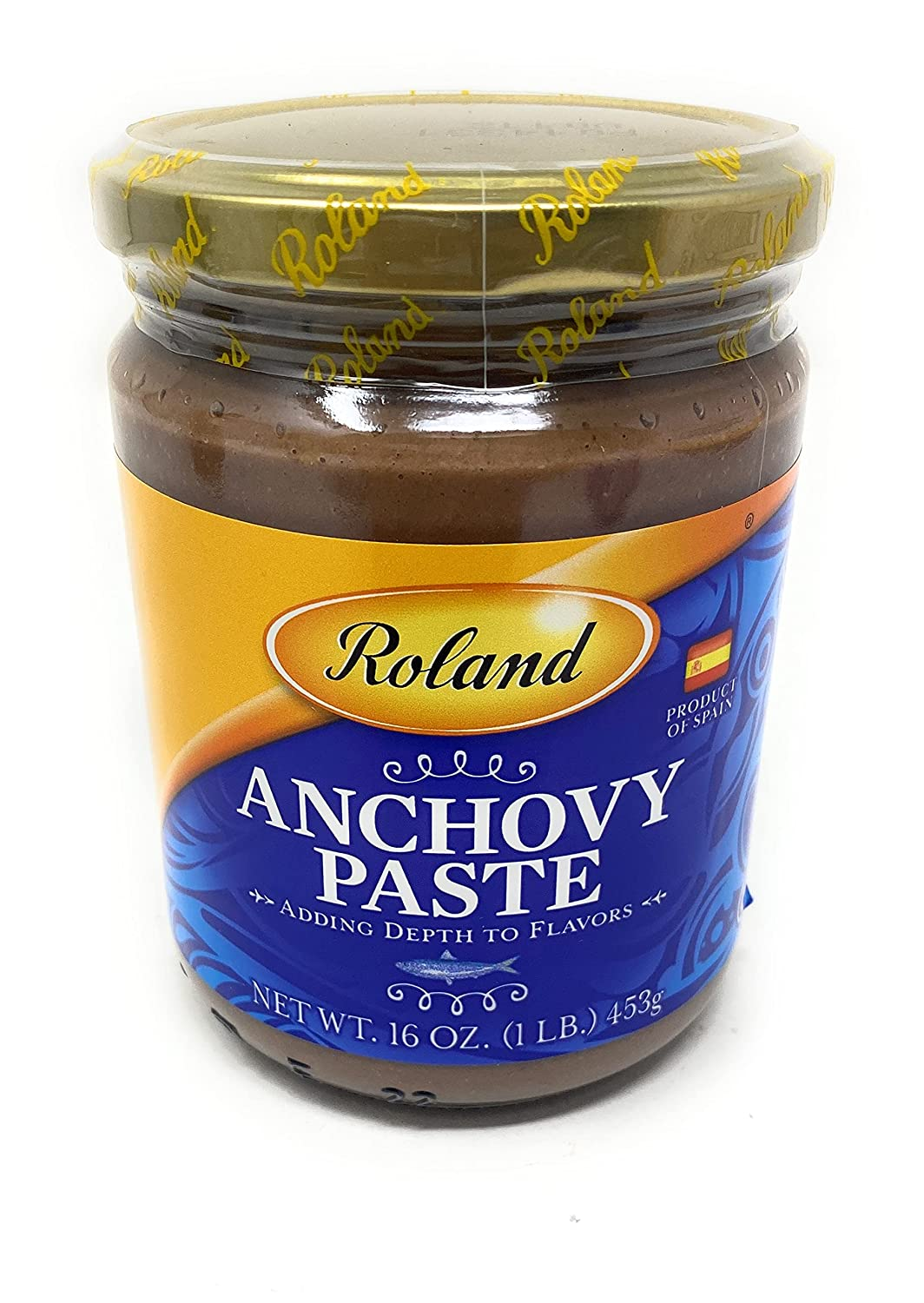 Roland, Anchovy Paste, 1lb Jar Product of Spain