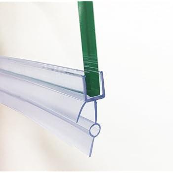 Soporte de goma de plástico HNNHOME, para mampara de baño o de ducha o puerta de