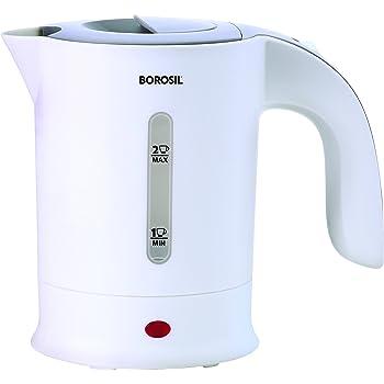 Borosil Safari BKE05LPW11 0.5-Litre Kettle (White)