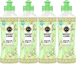 ジョイ コンパクト 食器用洗剤 モイストケア カモミールオアシスの香り 本体 190mL × 4本