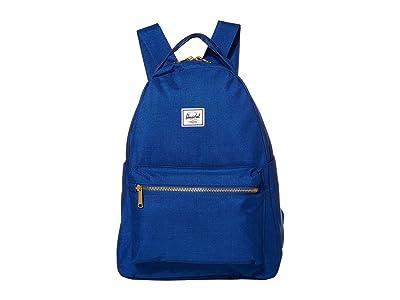 Herschel Supply Co. Nova Mid-Volume (Monaco Blue Crosshatch) Backpack Bags
